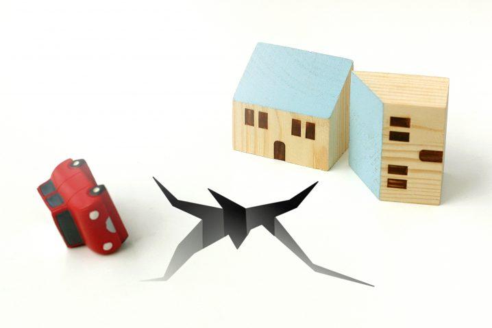 地震と模型