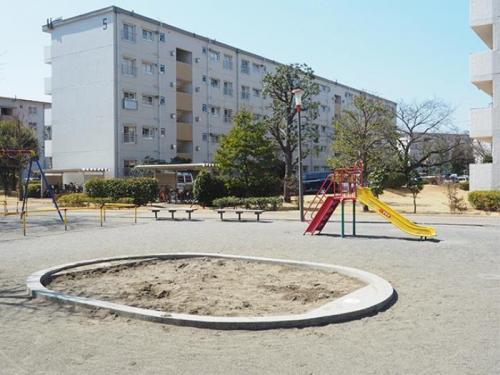 立川幸町団地>外観