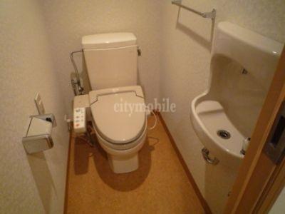 リバーシティ21センチュリーパークタワー>トイレ