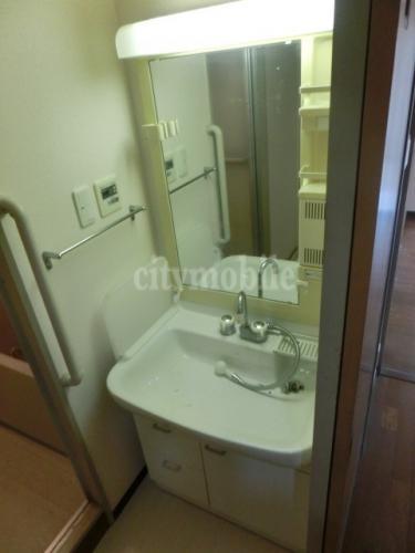 セントラルマンション ナカズシ>洗面台