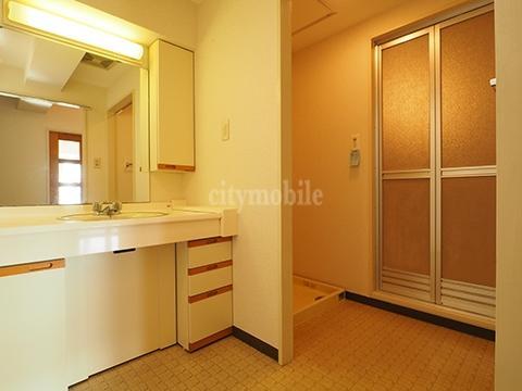 グリーンハイツ車返南>洗面所・室内洗濯機置き場