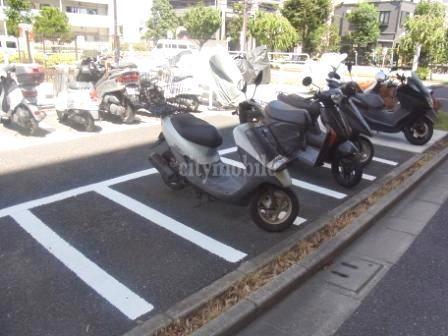 トミンハイム塩浜二丁目第1>バイク置き場