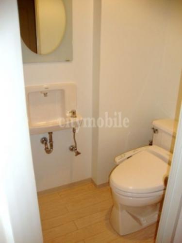 リバーシティ21リバーポイントタワー>トイレ