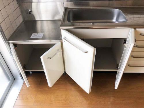 竹の塚第一団地>キッチン収納