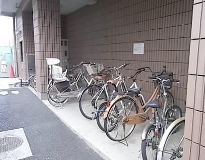 ベルデュール>駐輪場
