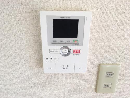 神田小川町ハイツ>モニタ付インターフォン