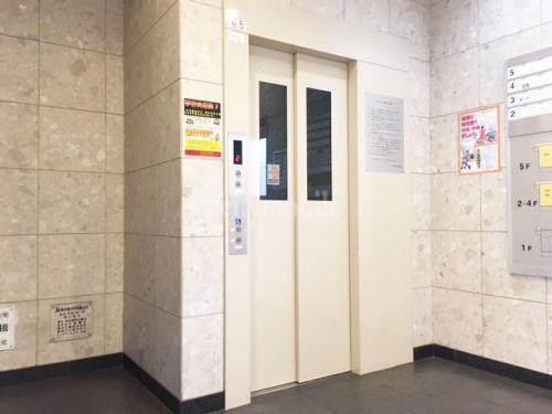 トミンハイム台場三番街>エレベーター