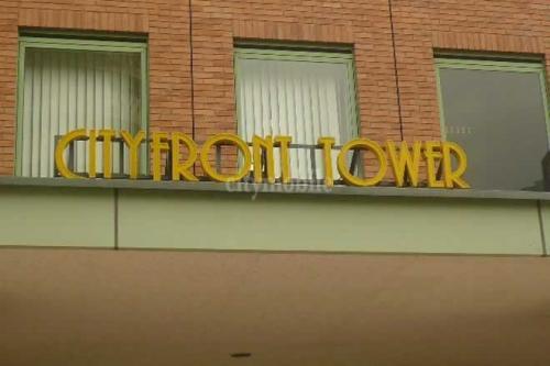 リバーシティ21シティフロントタワー>エントランス