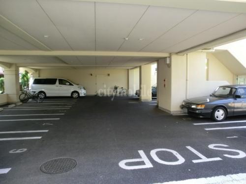 ハミングバード>駐車場