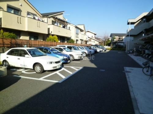 グランドール石神井公園>駐車場
