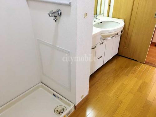 アクシス台東>洗濯機置き場