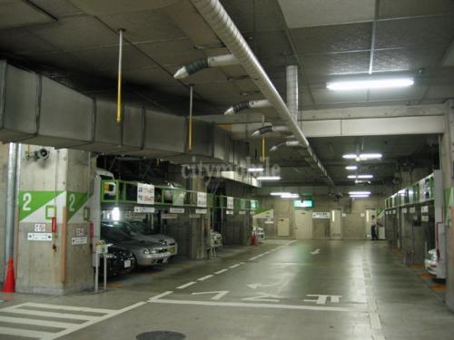 リバーシティ21リバーポイントタワー>駐車場