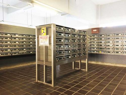 南砂住宅>メールボックス
