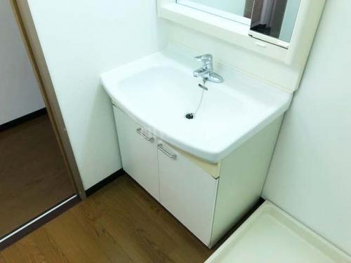 コーポレート竹の塚五丁目>洗面台