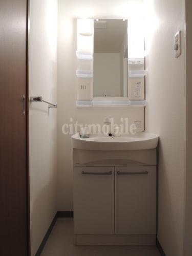 レジデンスさきがけ>洗面台