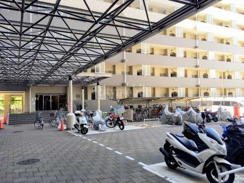 トミンハイム横川一丁目>バイク置き場
