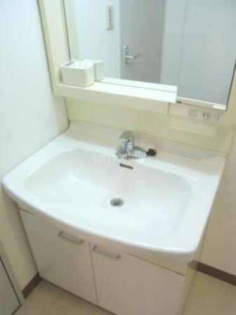サンベルジュ東六郷>洗面台