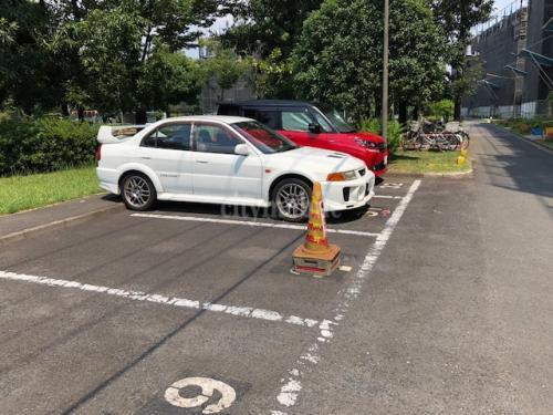 竹の塚第二団地>駐車場
