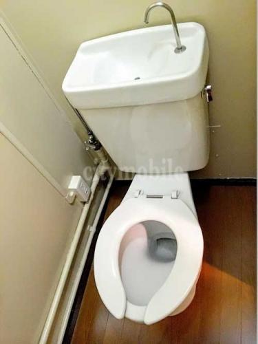 春江町椿住宅>トイレ