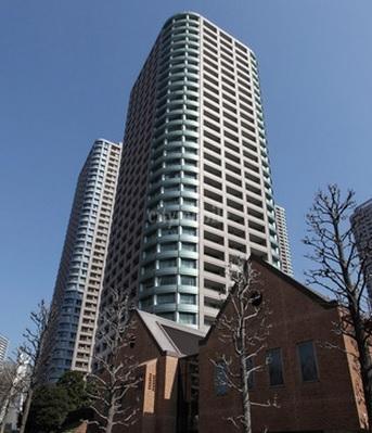 リバーシティ21シティフロントタワー>外観