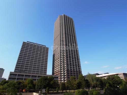 晴海アイランドトリトンスクエアビュータワー>外観