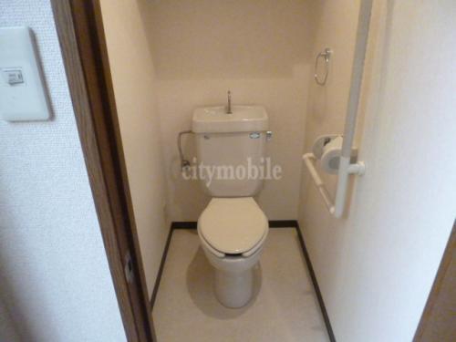 クレスト弐番館>トイレ