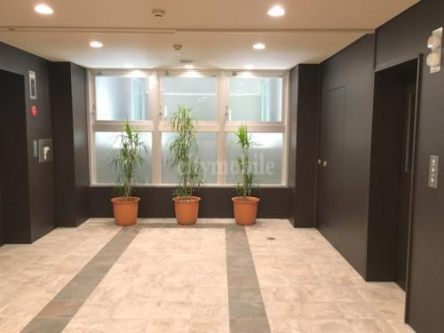 晴海アイランドトリトンスクエアアーバンタワー>エレベーターホール
