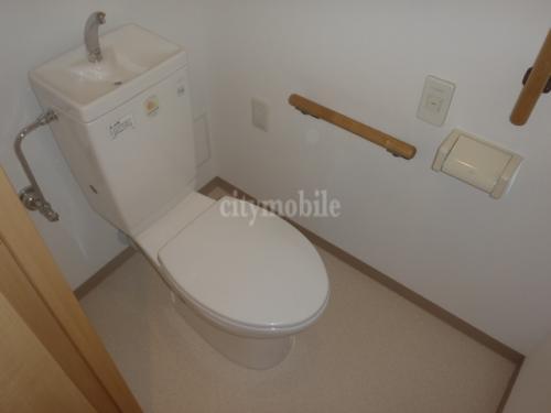 コンフォール上野台>トイレ