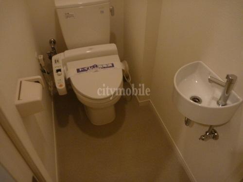 カスタリア茅場町>トイレ