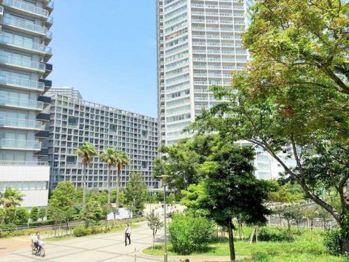 東雲キャナルコートCODAN>辰巳駅からの景観