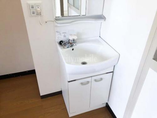 竹の塚第一団地>洗面台
