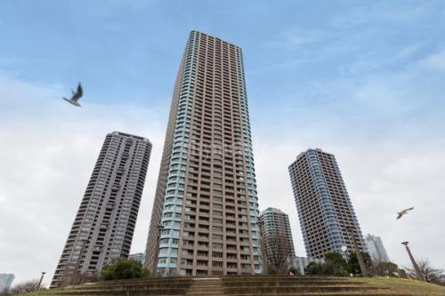 リバーシティ21センチュリーパークタワー>外観
