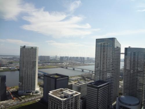 晴海アイランドトリトンスクエアビュータワー>眺望
