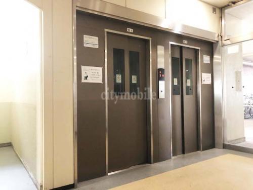 金町第二団地>エレベーター