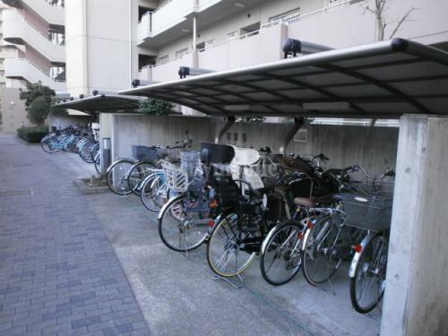 トミンハイム久が原五丁目>駐輪場