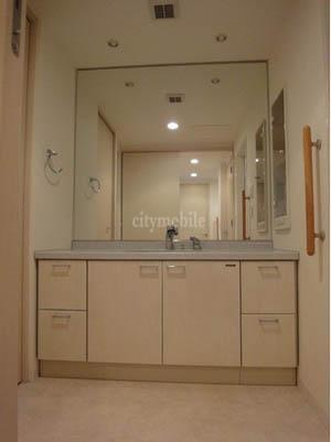 豊洲シエルタワー>洗面台