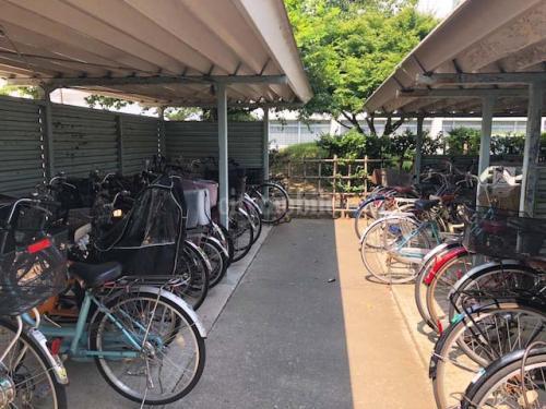竹の塚第三団地>駐輪場