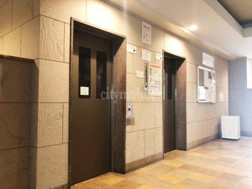 日の出町団地>エレベーター