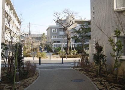 シティコート二子玉川>外観