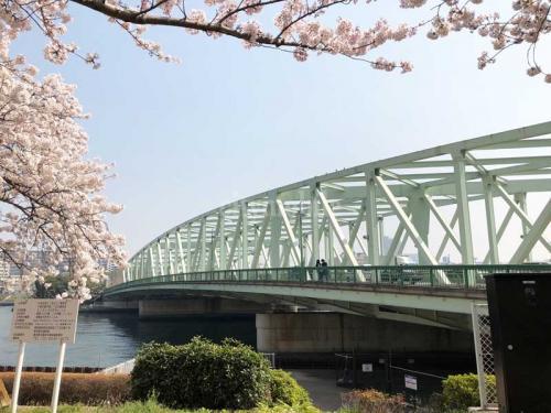 コーシャタワー佃>相生橋