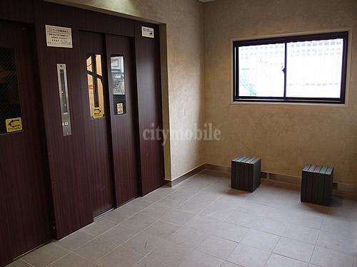 朝霞膝折団地>エレベーター