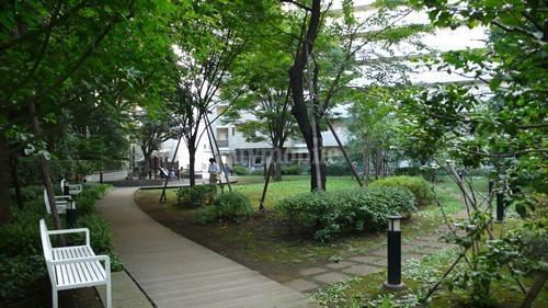 シティコート目黒>中庭