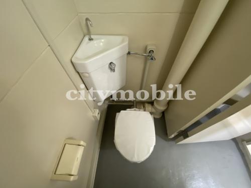 豊島町住宅>トイレ