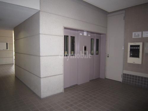 シャレール新蒲田>共有スペース