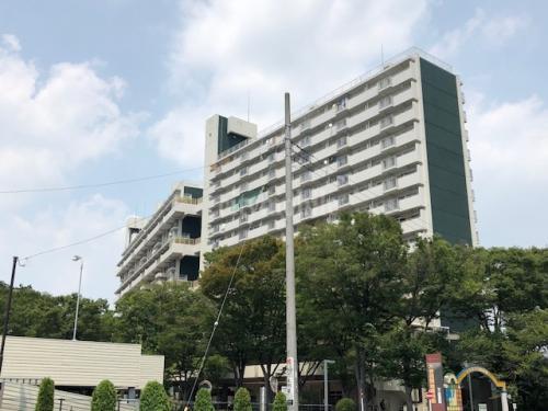 大谷田一丁目団地>外観
