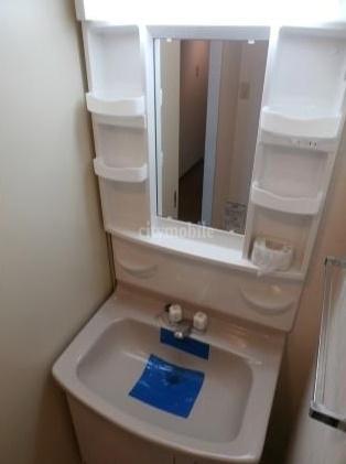 ベイコート山室>洗面