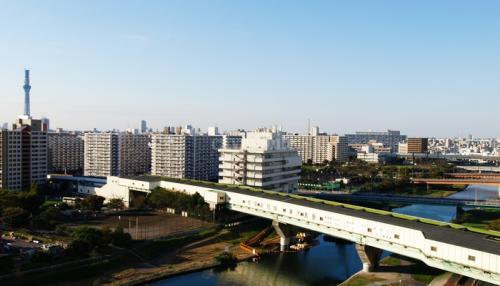 コーシャハイム小松川一丁目>眺望