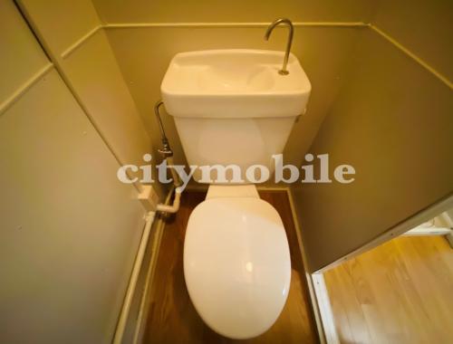 春江町住宅>トイレ