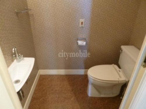 リバーシティ21シティフロントタワー>洗面