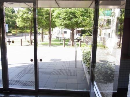 トミンハイム南大井五丁目>エントランス